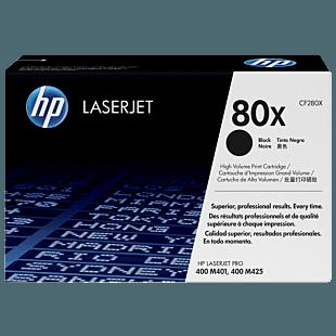 Cartucho de Tóner HP 80X Negro Alto Rendimiento LaserJet Original