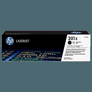 Cartucho de Tóner HP 201X Negro Alto Rendimiento LaserJet Original