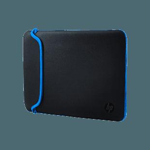 "Funda de Neopreno HP Negra/Azul de 15.6"""