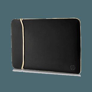 """Funda de Neopreno HP Reversible Dorado/Negro de 14"""""""
