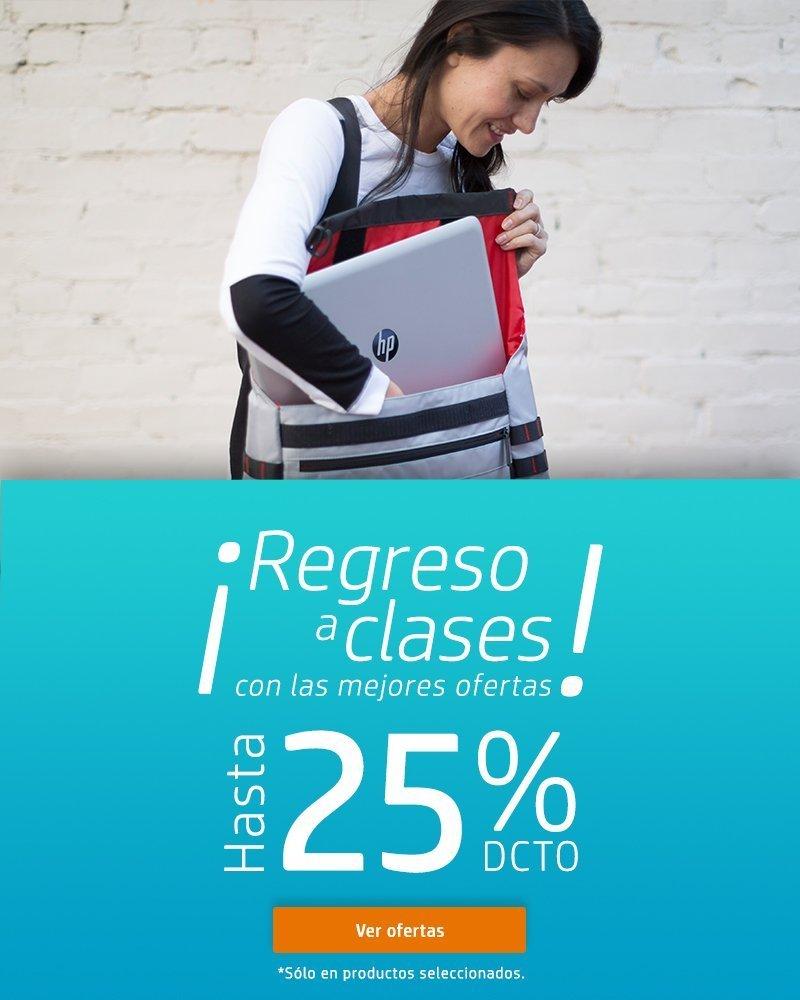 ¡Regreso a clases! con las mejores ofertas de hasta 25% dcto