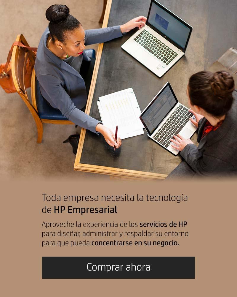 Toda empresa necesita la tecnología de HP Empresarial