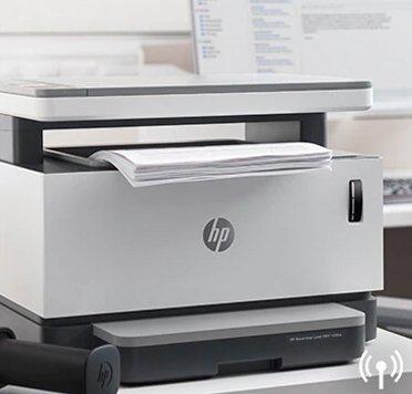Impresora inalámbrica multifuncional HP Neverstop Laser 1200w