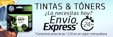 Tintas & Tóners originales HP | ¿Lo necesito hoy? Envío express en 24 horas comprando antes de las 12:00pm en región metropolitana