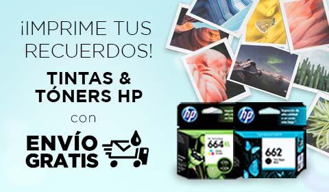 ¡Imprime tus recuerdos! Envío gratis en cartuchos y tóners originales HP